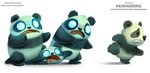Daily Paint 2058# Pandademic by Cryptid-Creations