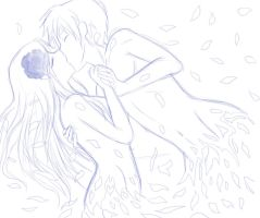Love will fade away sketch by AngelofHapiness