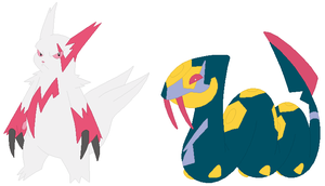Zangoose and Seviper Base