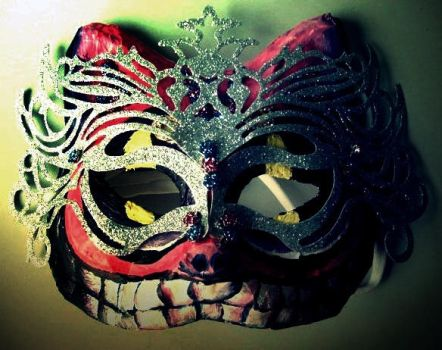 Cheshire Cat  'Real' Mask by warain