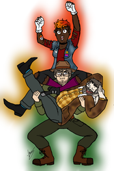 The Pine Guard Nerds by Narwhalicious