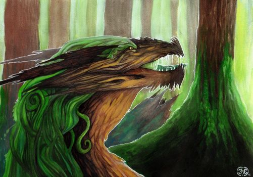 Forest Guardian by inessiivi