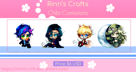 Commission Chibi prices! Open by Rinnn-Crft