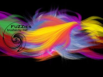 Fuzzies Brushes by melemel