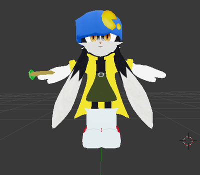 Klonoa Movie Outfit MMD Wip by ANGELCATZRULE