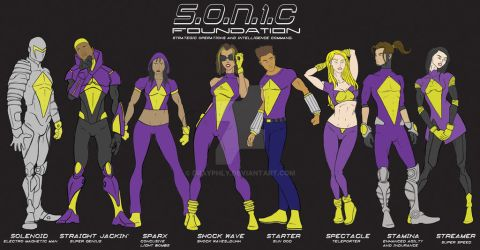 Sonic Foundation by drayphly