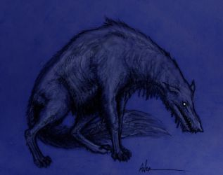 The Black Shuck by Ashere
