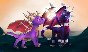 The Legend Of Spyro by Wolf-Chalk