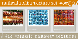 Texture Set 03: Magic Carpet by Ruthenia-Alba