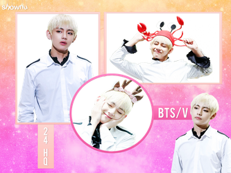 V / TAEHYUNG PNG PACK   BTS by shownue
