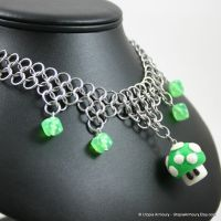 1up Chainmail Necklace by Utopia-Armoury
