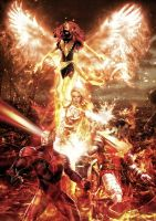 X-men - The Phoenix Force by tomzj1