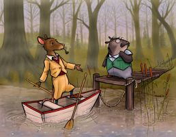 Wind in the Willows by andrewchandler80