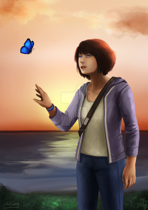 Life is Strange - I couldn't save Chloe... by VickArtStrong