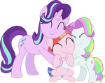 Starlight Glimmer, Coconut Cream and Toola Roola by Sinkbon