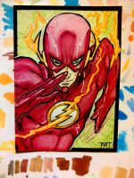 Sketch Card : Flash by nork