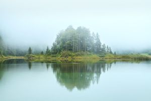 Misty Island by MarvinDiehl