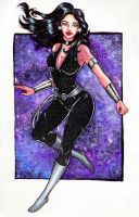 Superheroines Project #1 - Donna Troy by Demon-Spirit