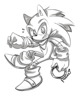 Sonic Boom sketch by Patrial