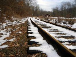 Tracks of Snow by babygurl83