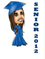 Senior 2012 caricature by raccoon-eyes