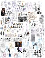 Extremely Huge Doodle Dump 1-14 to 5-29 by ryuuen