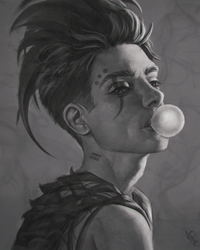 Bubble Gum #123 by AngelGanev