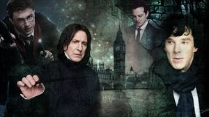 Harry Potter and Sherlock for elodieland by get-sherlock