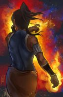 Korra Flame by anireal