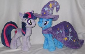 Twilight Sparkle and The Great and Powerful Trixie by calusariAC