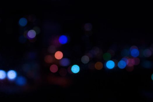 Night bokeh 2 by ManicHysteriaStock