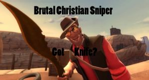 Brutal Christian Sniper by samuswolf407