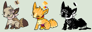 :OTA: Fox Scarf Adoptables Closed by galaxyantlers