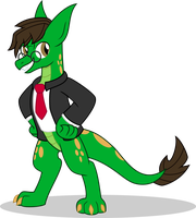Teric Dragon (TG Style) by MLP-TrailGrazer