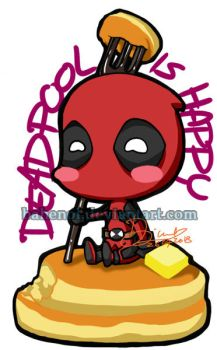 Deadpool is Happy by bahenol