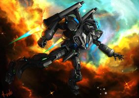 Space Mecha by t-rob
