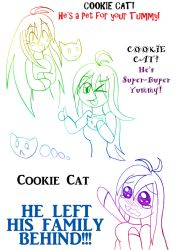 COOKIE CAT by CrystalRobot123