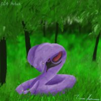 Pokemon Challenge 024-Arbok by midgear