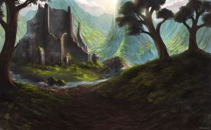 Valley of the Temple by OuterKast