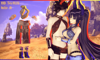 [MMD] Tera - Online - Outfit dl by Chifar