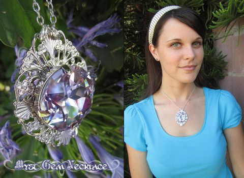 Myst Gem Necklace by Firefly-Path
