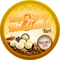 Maple Syrup and Macadamia Tarts by Echilon