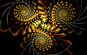 Study in Spirals for Print by Fractamonium