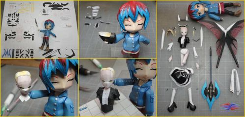 Papercraft build request \(^o^)7 by BRSpidey