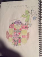The members of the Jesters (pvz OCs, read desc.) by NamelessZea