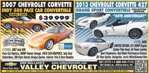 Valley Chevrolet Newspaper ad by Stnk13