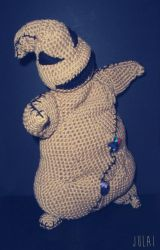 Oogie Boogie Crochet Plush by Tofe-lai