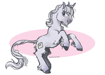 Sketch commission for doctordapples by spectralunicorn