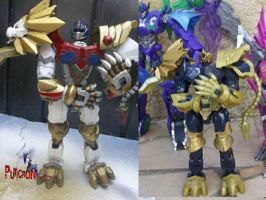 transformers custom lio convoy by puticron