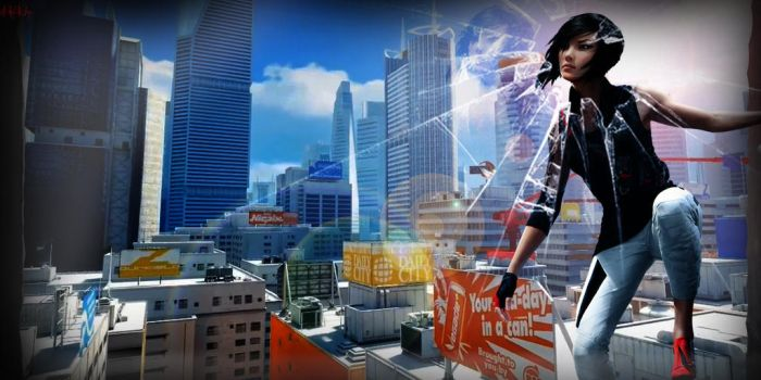 Mirrors Edge 2 wallpaper by NHKkyo